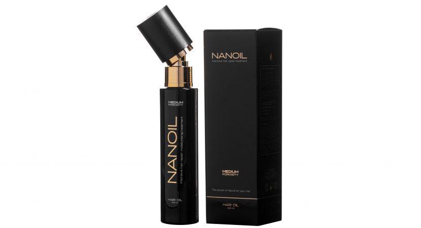 Nanoil einzigartiges Haaröl in drei Versionen